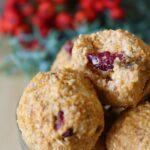 Healthy recipe with pumpkin puree, no bake energy balls