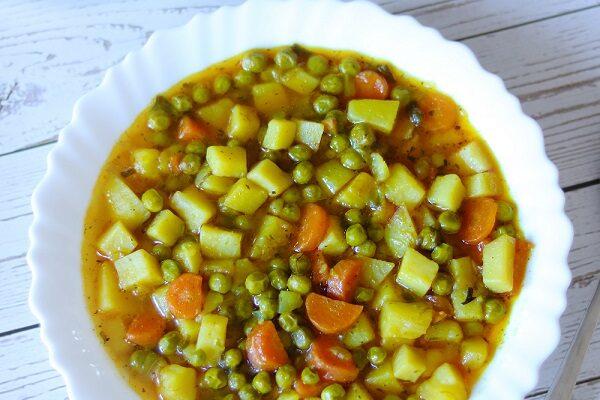 Green Peas Recipe (Cozy & Warming)