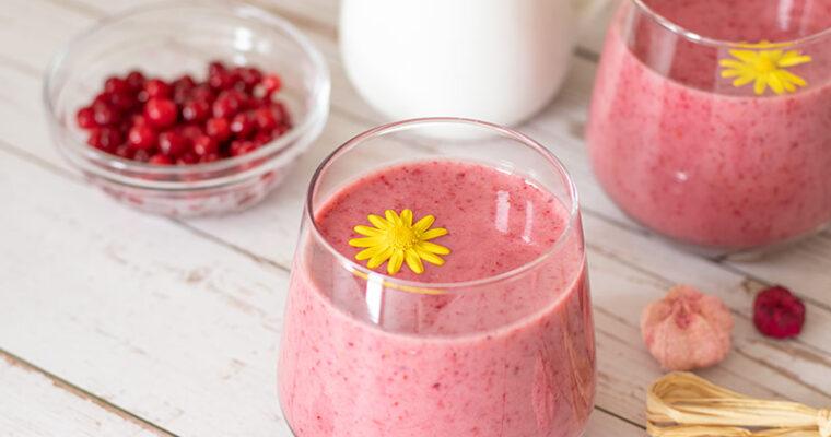 BEST Cranberry Healing Smoothie