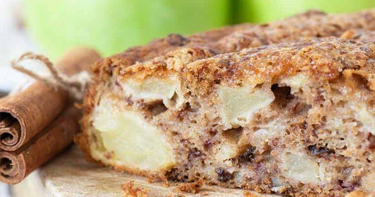 Apple Cake with Cinnamon and Walnuts (Best Fall Dessert Idea)